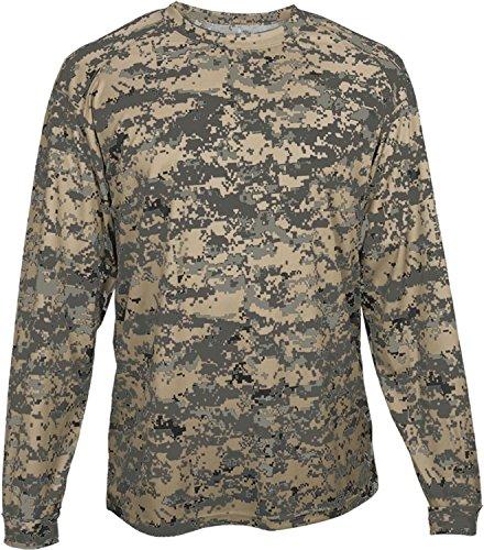 - Badger BG4184 Men's Long Sleeve Sublimated Tee Sand Digital L