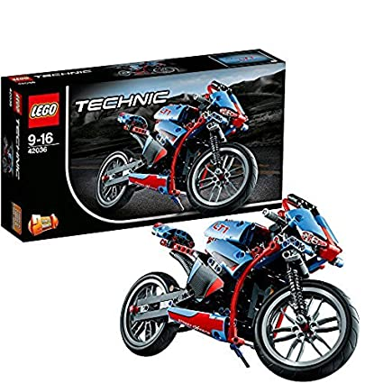 Buy Lego Street Motorcycle Multi Color Online At Low Prices In