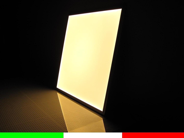 LAMPADA PANNELLO A LED X8 SLIM 60X60 CM LED LUMINOSO QUADRATO 48W PLAFONIERA PER UFFICI CALDO NATURALE FREDDO