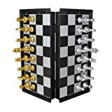 Magnetic Chess Set Folding Chess Board Game Set for Children 6 Years ,25*25cm
