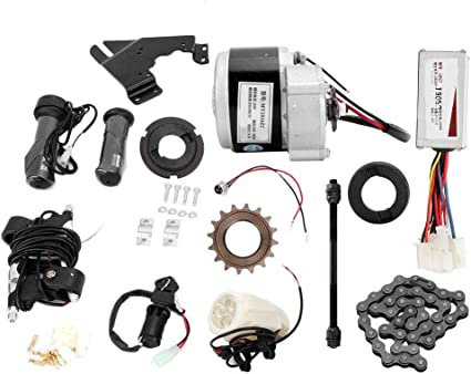 Charger For 22-28/'/' Ordinary Bike 24V 250W Electric  Conversion Motor Kit