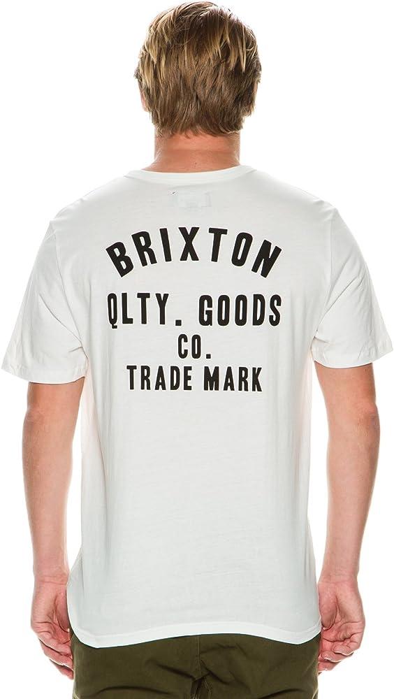 Brixton ECP Design Woodburn Henley Marfil Blanco: Amazon.es: Ropa y accesorios