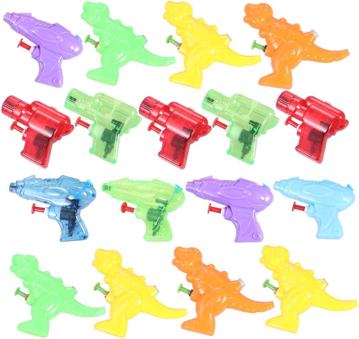 TOYANDONA 16Pcs Water Blaster Summer Toys Pequeño Chorro Juego de Playa Al Aire Libre Mini Waterhooter Squirter para Niños Piscina Diversión Fiesta Favores (Estilo Mixto)