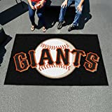 "Fanmats Sports Team Logo San Francisco Giants Ulti-Mat 60""96"""