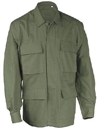 Amazon.com  Od Green Tactical Military Law Enforcement Poly Cot Fatigue Bdu  Shirt  Clothing 2c5d8f0a33ea