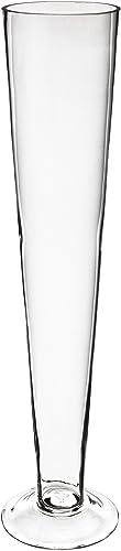 Trumpet Vase, Pilsner Vase. H-20