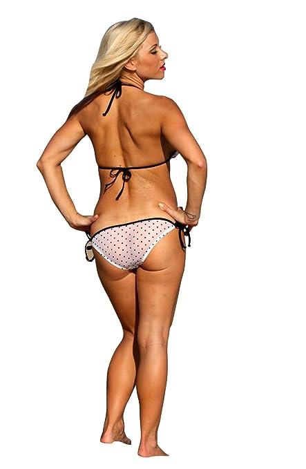 05514442ecbcf0 Ujena Sheer Saint-Tropez Bikini Top Only: Medium: Amazon.ca: Clothing &  Accessories