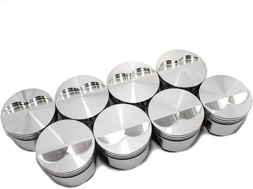 SRP 138085 4.030 Bore Flat Top Piston Set for Small Block Chevy