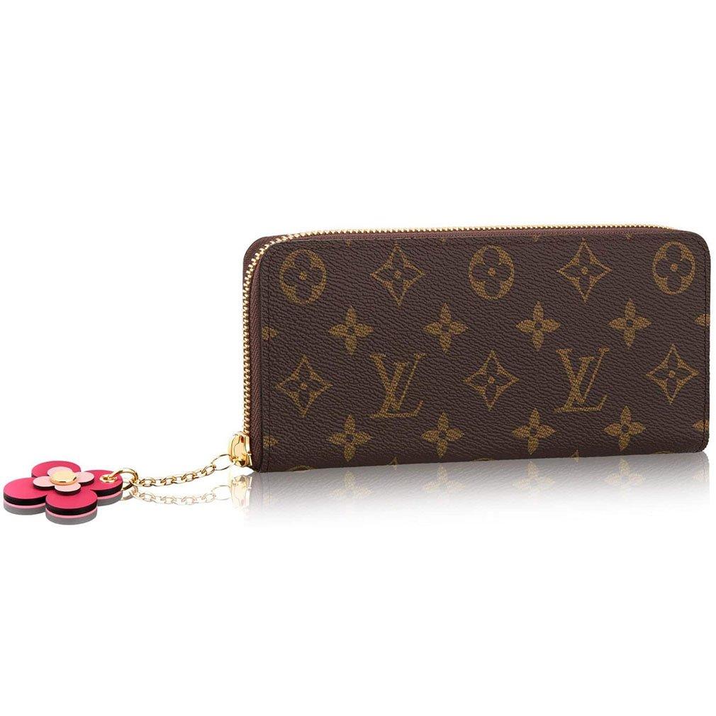 check out 3e6ef c148a Amazon.com: Louis Vuitton Monogram Canvas Wallet Clemence ...