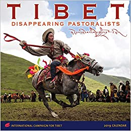 tibet 2019 wall calendar disappearing pastoralists international campaign for tibet