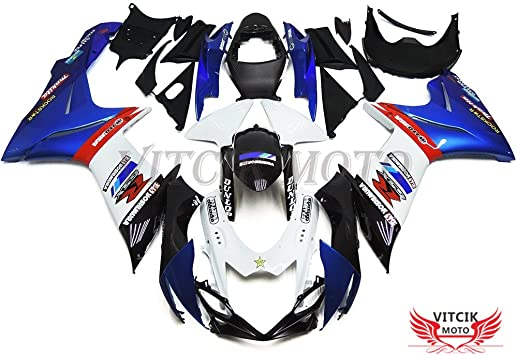 Areyourshop Windshield WindScreen Double Bubble For GSXR 600//750 2004-2005 K4 Black