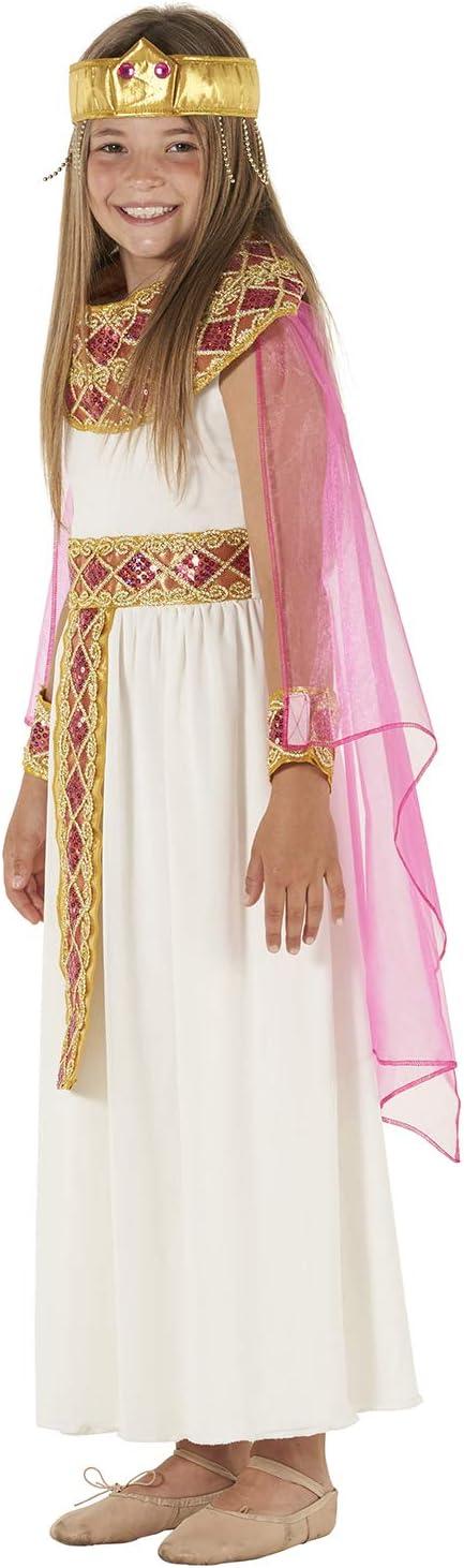 MORPH Disfraz de Cleopatra para niña Carnaval - Grande - (9 - 11 ...