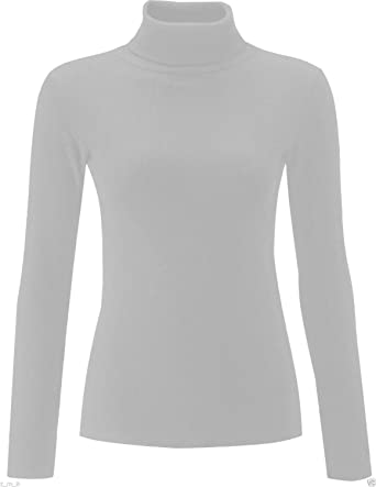 Re Tech UK - Polo - Manga Larga - para Mujer Gris Gris Claro ...
