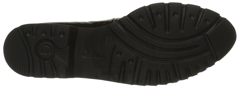 Gabor Schuhes 52.556 Schwarz Damen Slipper Schwarz 52.556 (Schwarz (S.s/S) 97) 917984