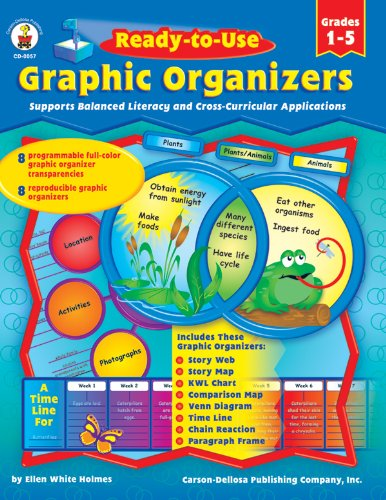 Read Online Ready-to-Use Graphic Organizers, Grades 1 - 5: Supports Balanced Literacy and Cross-Curricular Applications pdf epub