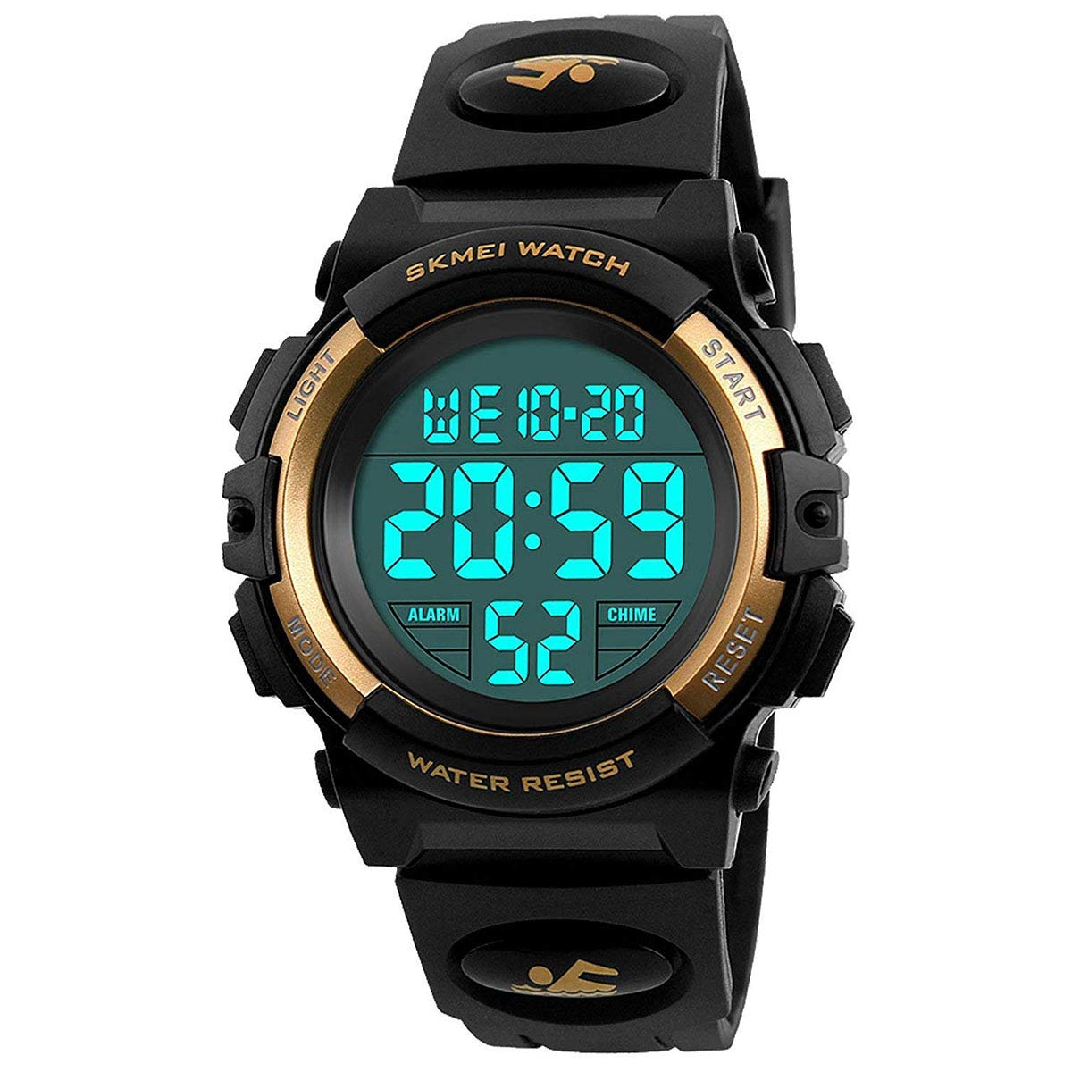 Kids Digital Watch for Boys Girls Waterproof Sport Watches with Alarm Stopwatch Electronic Analog Quartz Led Wrist Watch Children Gifts 1266