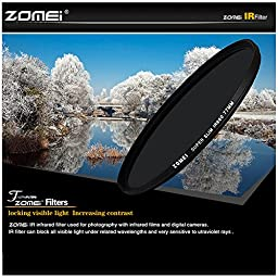 Zomei Ultra Slim Optics 67MM IR680 Glass Infrared X-Ray IR Filter