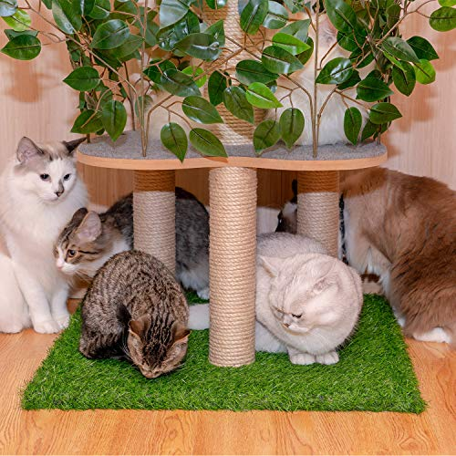 Scurrty Cat Tree Stand House Furniture Kittens Activity