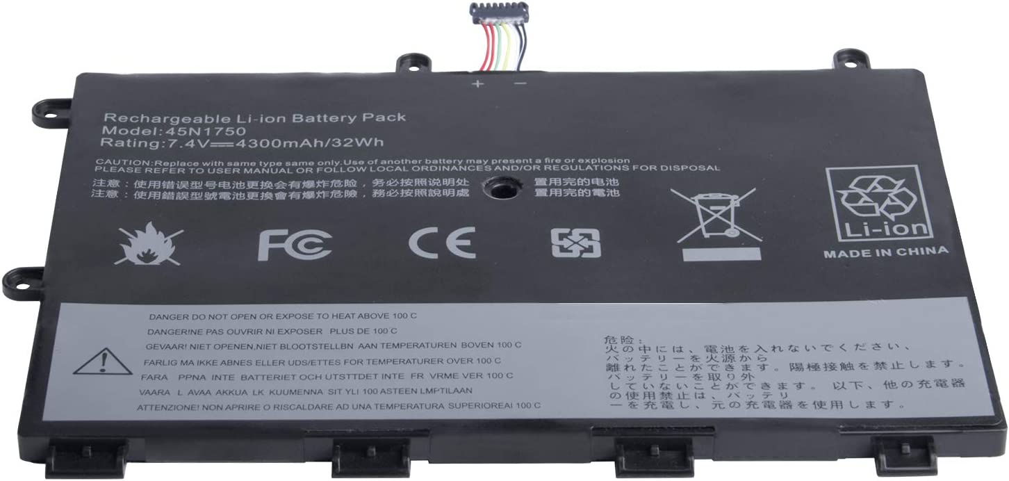 45N1748 Replacement Laptop Battery Compatible with Lenovo ThinkPad Yoga 11e 45N1750 45N1751 45N1748 45N1749