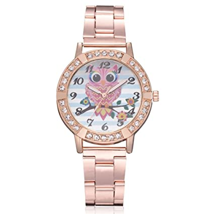 Amazon.com  Rose Gold Plated Wrist Watch 7d9b49d9bc