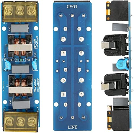 EMI High Frequency Two-stage Power Low-pass Filter Board For Power Supply 6//25A