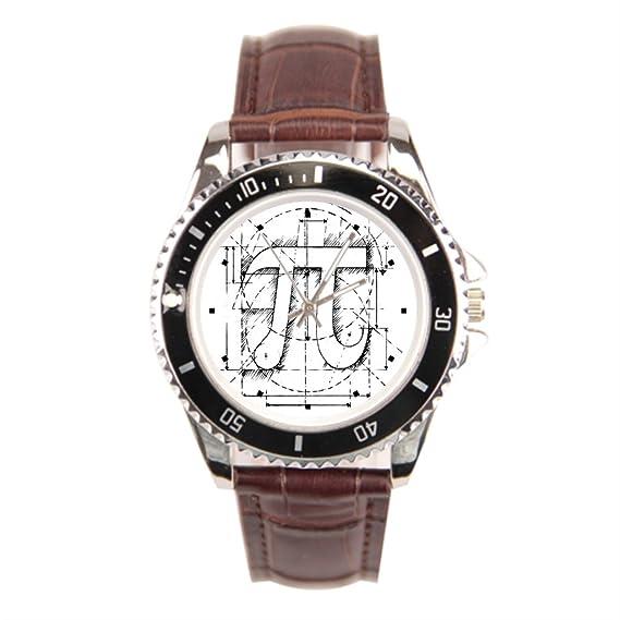 Sueño etapa Geek muñeca reloj para hombre reloj de pulsera, Pi número comprar en línea: Amazon.es: Relojes