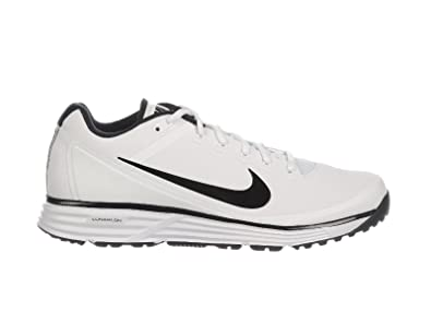 Nike Men's Lunar Clipper Turf 2017 White/Black/White Synthetic  Cross-Trainers Shoes