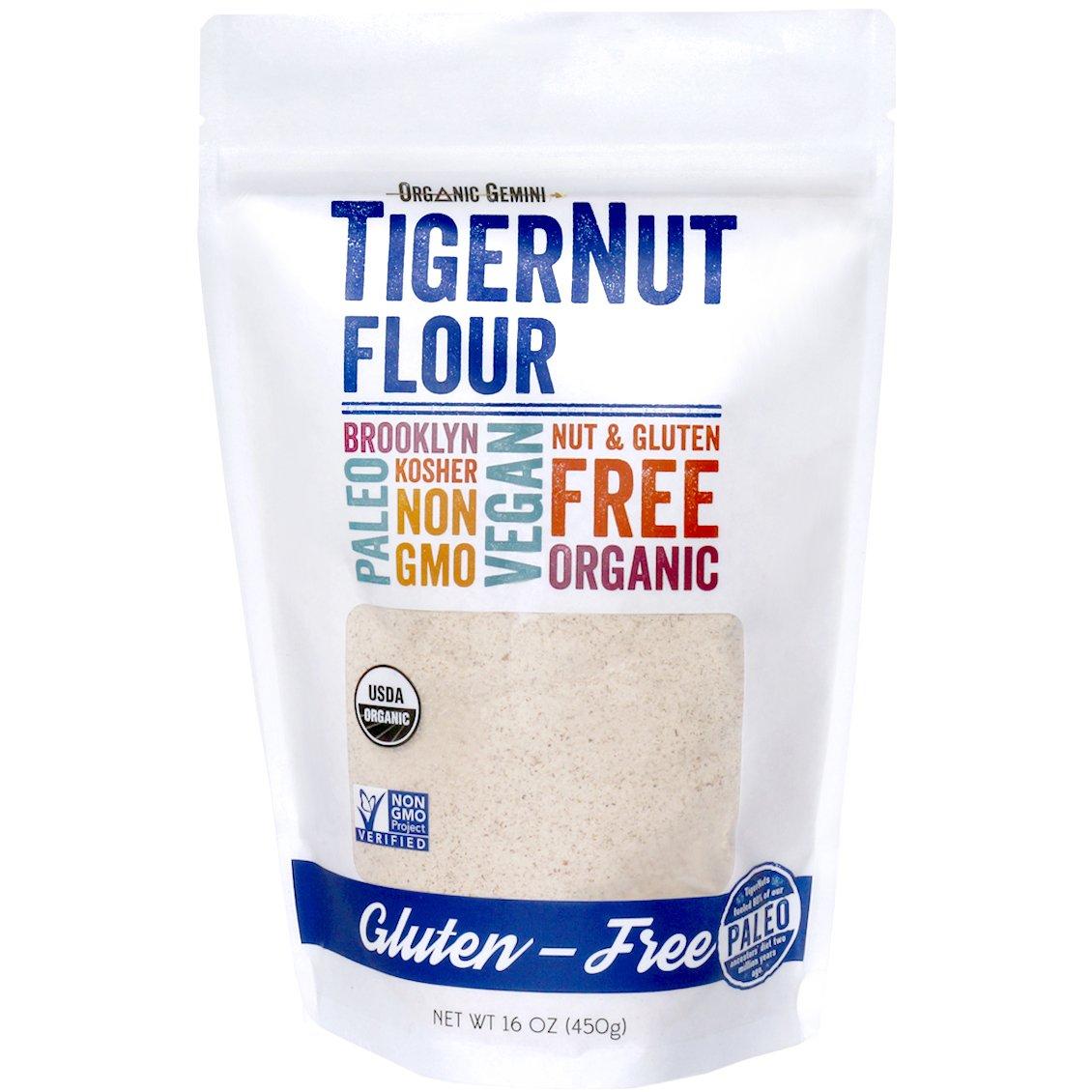 Organic Gemini TigerNut Flour, Organic, Gluten-Free, 2 lb.