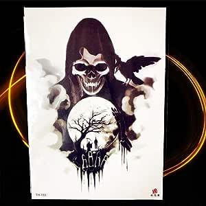 Yyoutop Halloween Horrifico Demonio Tatuaje Mujeres Pecho Joker ...