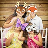 Forest Animals Photo Booth Kit