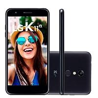 """Smartphone LG K11 Plus Dourado 32GB Tela 5,3"""" Dual Chip Octa Core Câmera 13MP"""