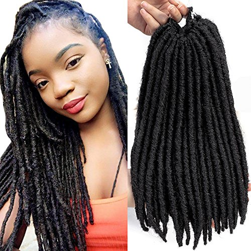 amazon com dingxiu 12 inch 6packs deal faux dreads bomba