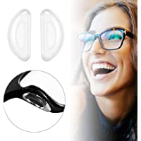 MOGOI Nose Pads for Eyeglasses Glasses Sunglasses, Adhesive Soft Silicone Nose Pads Anti-Slip Nosepads 10 Pairs