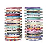 #5: 48 Rolls Washi Tape Set,Foil Gold Skinny Decorative Masking Washi Tapes,3MM Wide DIY Masking Tape