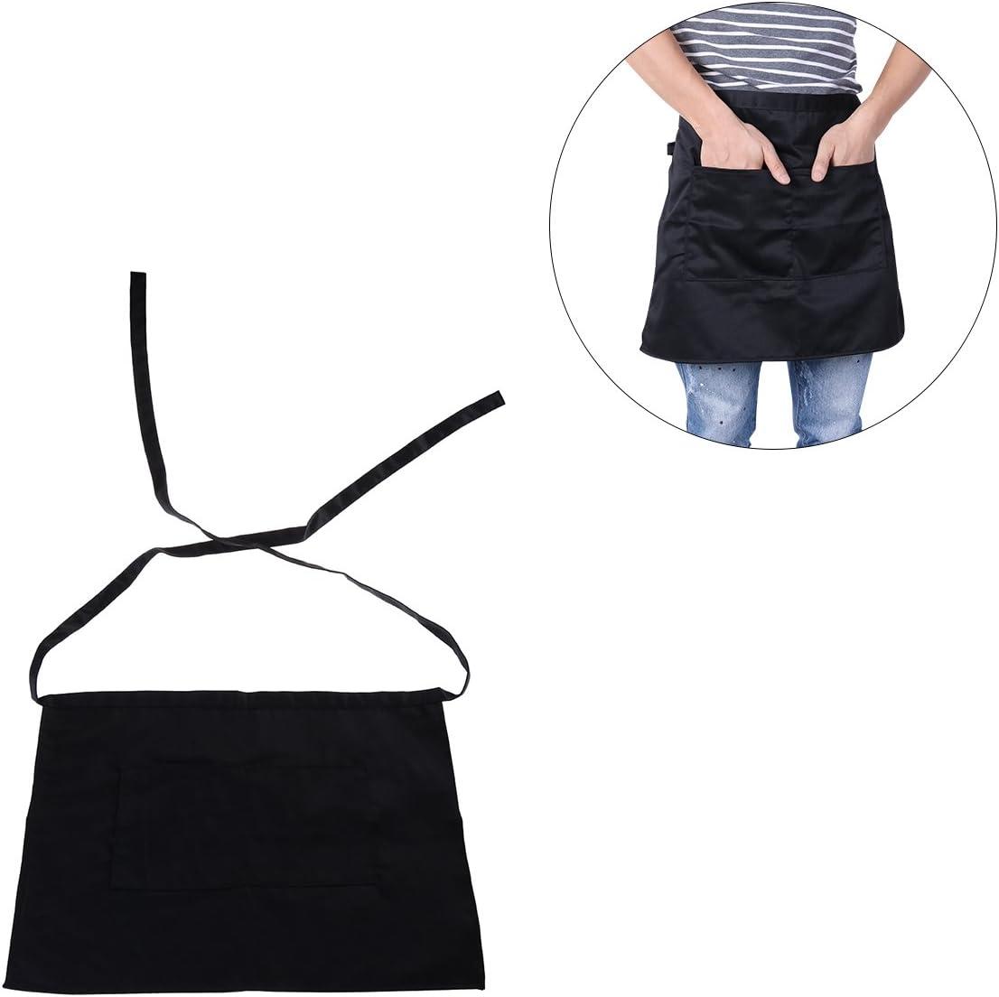 Pixnor Tablier court avec poche noire