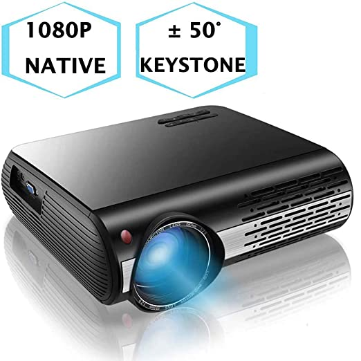 Ai LIFE Proyector 1080p Proyector de Video Full HD de 16000 ...