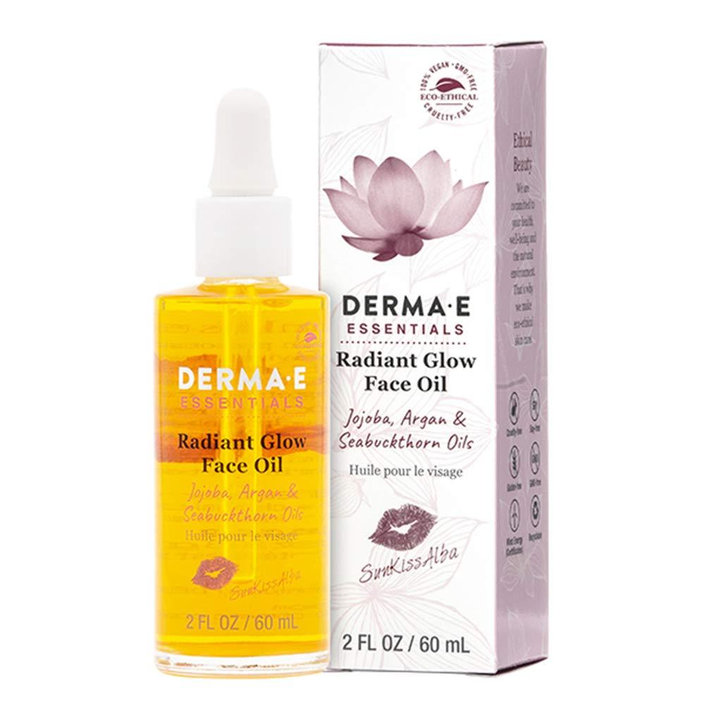 DERMA E Sunkissalba Radiant Face Glow Oil, 2 oz by DERMA-E