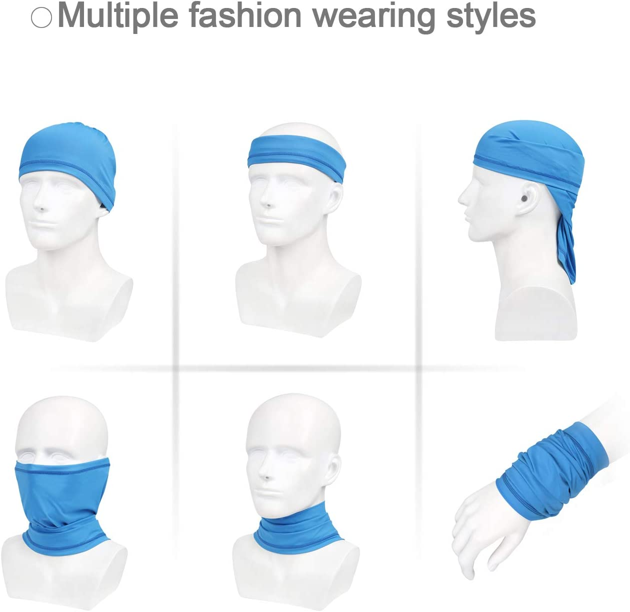 Sfee Balaclava Face Mask Winter Neck Warmer Windifable Breakfast Face Cover Hat for Men Women Outdoor Unisex Headband Ear Warmers Mufts