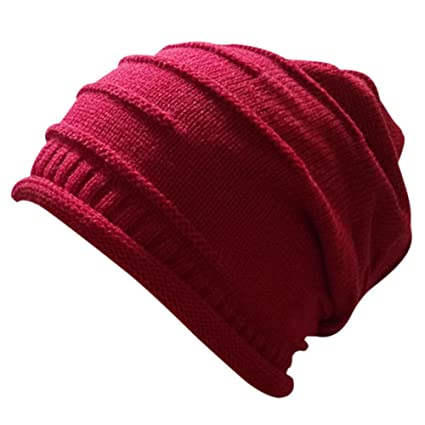 613e2bfe58d Amazon.com: Luxsea Outdoor Women Winter Twist Pattern Hat Knitted Sweater  Hats Sports New Design Caps: Clothing