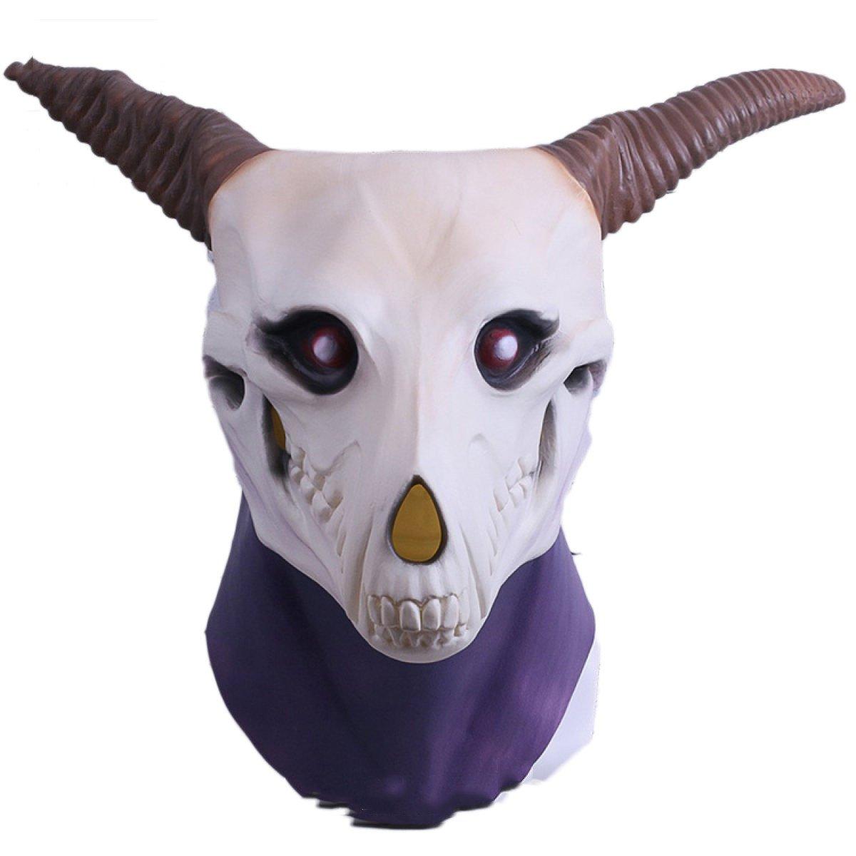Cosplay Mask Mask Enchanted Bride Elias Entrepreneurs Hood Mask Halloween Performance Props Cos,MagicMakeMask-OneSize