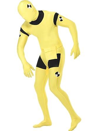 Amazon.com: Crash chupete segunda piel traje disfraz ...
