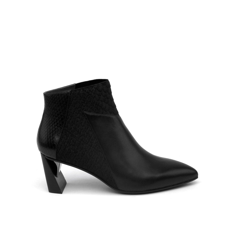 UNITED NUDE Women's Zink Mid Fashion Boot B075N4X253 36 Medium EU (5.5-6 US)|Black