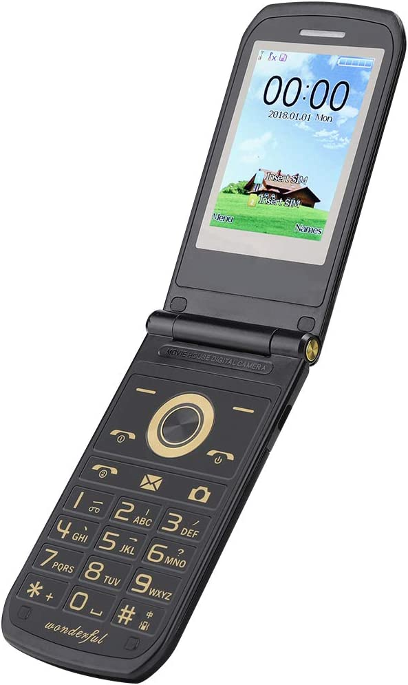 FILP Phone Gifts Cell for Seniors Card SIM Dual Fixed price sale Mobile G