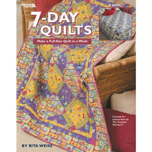 Leisure Arts 7-Day Quilts Book