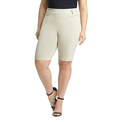 Rekucci Curvy Woman Ease into Comfort Plus Size Modern City Short at Women's Clothing store