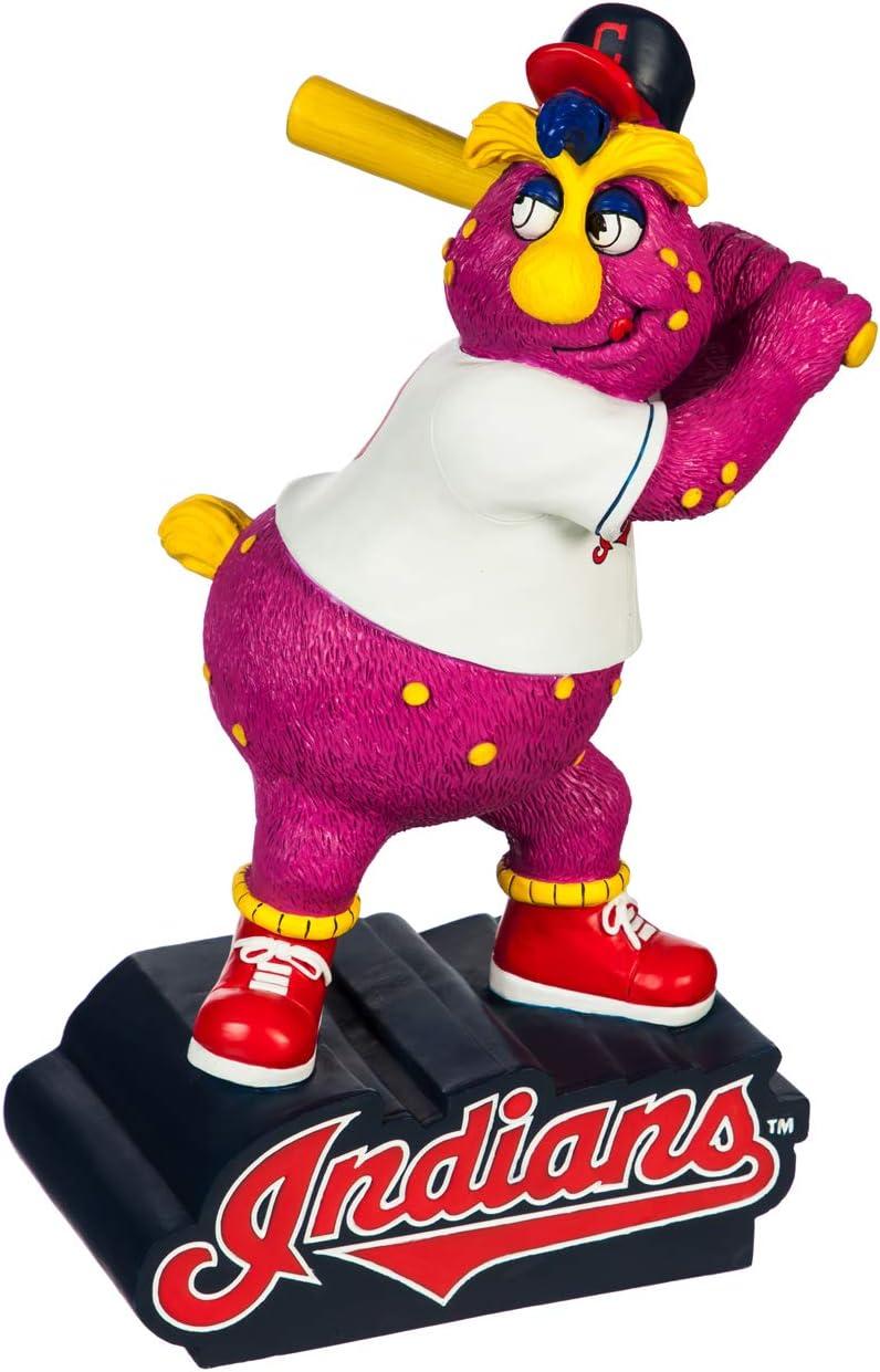 Evergreen Enterprises MLB Cleveland Indians Mascot DesignGarden Statue, Team Colors, One Size