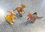 gg 6 NEW LARGE ASSORTED TOY DINOSAURS 6