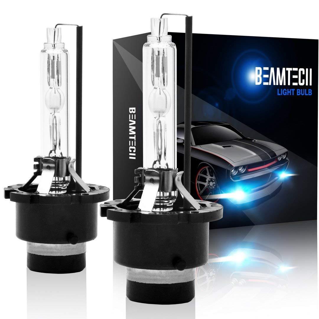 D2R//D2C Xeno Faro Sostituzione Luci 35W 12V 6000K Bianco BEAMTECH D2S HID Lampade 2 PCS