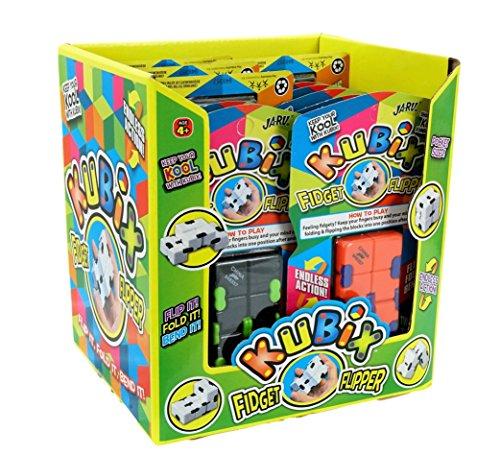 2GoodShop Kubix Speed Cube by JA-RU | Fidget Cube Flip It Endlessly Pack of 12 | Item #3802 by 2GoodShop (Image #5)
