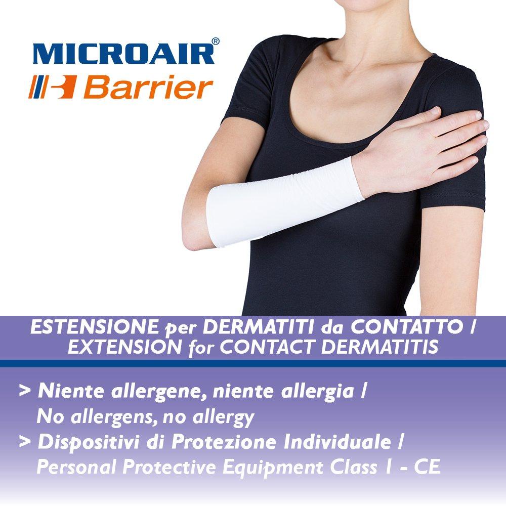 Microair Barrier Estensione avambraccio uomo 1 paio taglia II Lunghezza 25 cm / Circonferenza max 35 cm ALPRETEC